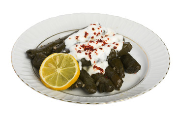 dolmas with clipping path
