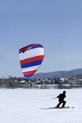 Ski kiter