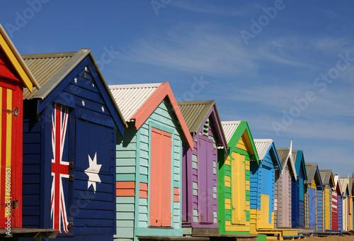 Aluminium Australië bathing boxes in Melbourne