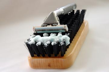 Hard shave.