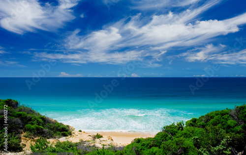 canvas print picture Scenic Beachscape
