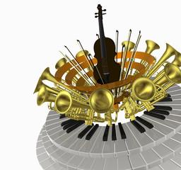 music ring violin