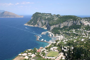 Capri in the Bay of Naples
