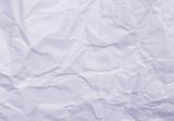 blue wrinkled paper poster