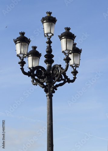 Decorative Old Street Lamp