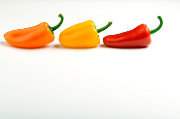 The 3 peppers