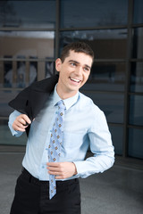 a motivated businessman