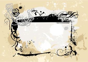 Grunge frame 3
