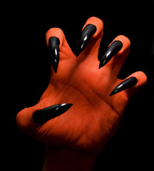 Devil hand