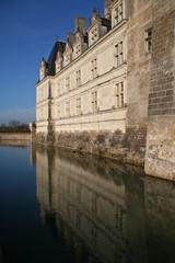 Reflet du château de Villandry
