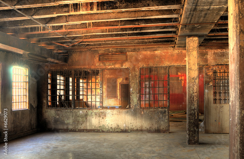 HDR of Abandoned Prison