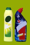 cleaning products. toilet cleaner. limescale remover.container poster