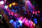 discoteca v noci