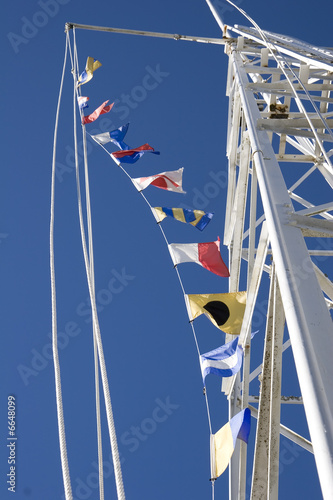 Flags and Tower