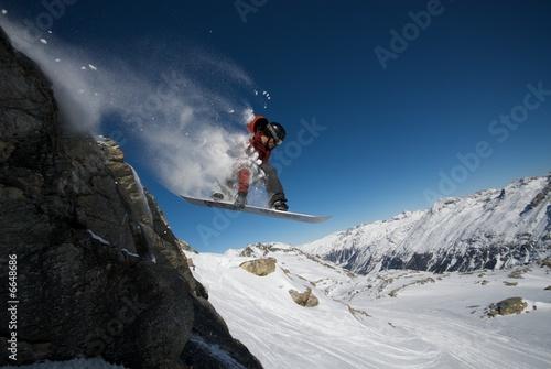 Big Mountain Snowboard - 6648686
