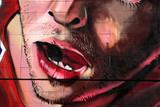 expresion de sorpresa en un graffiti