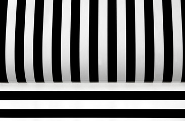 black and white stripes variation 1