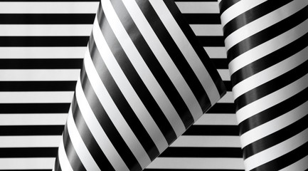 black and white stripes variation 2