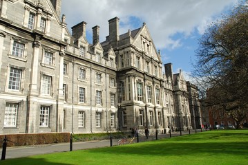 Dublin,Trinity College3, Parliament Square; (Oregon maple 1827)
