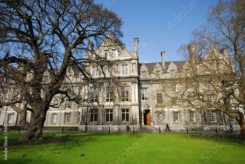 Dublin,Trinity College2, Parliament Square; (Oregon maple 1827)