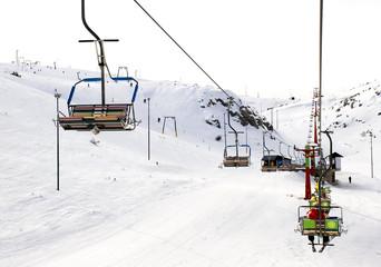 Ski center Mavrovo from Macedonia