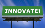 Innovate Billboard poster