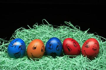 friendly eggs