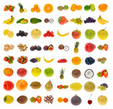 Fototapety collection of fruit and nuts