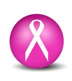cancer symbol - pink poster