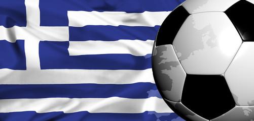 euro 2008 - national flag of greece