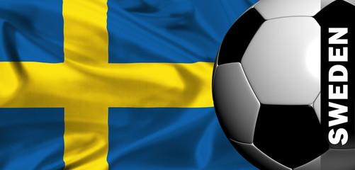 euro 2008 - flag of sweden