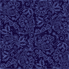 Paisley pattern (print, background, wallpaper)