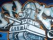 Quadro graffiti...le canonnier  épris
