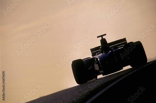 Leinwandbild Motiv Abstract Motor Sport