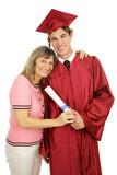 Proud Mom & Graduate poster