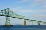 Astoria bridge over Columbia river, Oregon poster