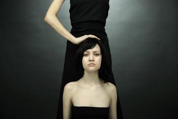 Fine art photo of two women