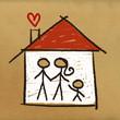 dessin maison famille