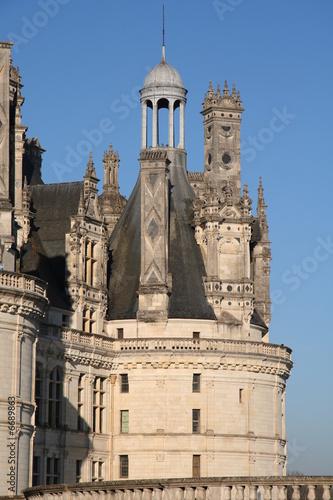 Poster Tour du château de Chambord