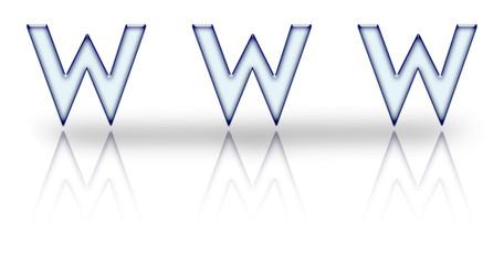 Scritta WWW