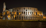 colosseum in night