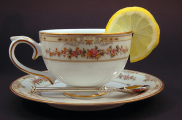 Tazza con limone
