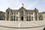government palace lima peru poster