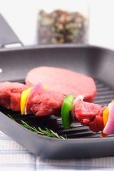 shish kabob an meat