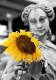 Sunflower Goddess poster