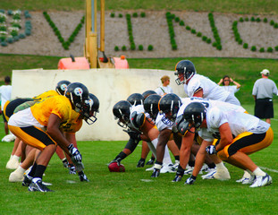 Pittsburgh Steelers, Line of Scrimmage
