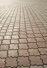 ornate paving stones
