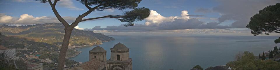 Costa amalfi panoramica