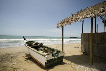 fishing boat restaurant house pacific ruta del sol ecuador