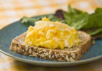 Scrambled egg sandwich 2
